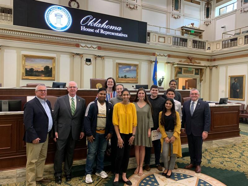 Thumbnail Image for Article Superintendent's Student Advisory Council visit State Capitol
