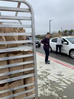 Union Distributes 1,440 Meals on 1st Day of Union Drive-Thru Grab & Go's