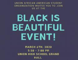 Thumbnail Image for Article 'Black is Beautiful' set this Friday, March 6