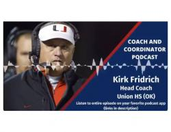 Coach Fridrich Talks About StakeHolders in Podcast