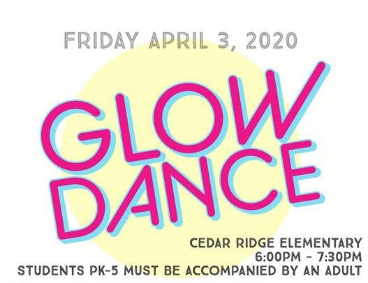 Thumbnail Image for Article Cedar Ridge Glow Dance April 3