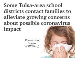 Thumbnail Image for Article Some Area Schools Notify Parents About Corona Virus Concerns