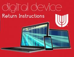 Digital Device Return Instructions
