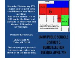 Thumbnail Image for Article District 5 Election Forum set March 13