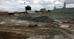 Work on Union Stadium Continues