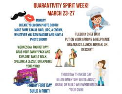Darnaby Quarantivity Spirit Week