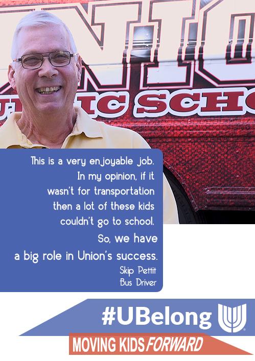 Be a Bus Driver for Union Public Schools