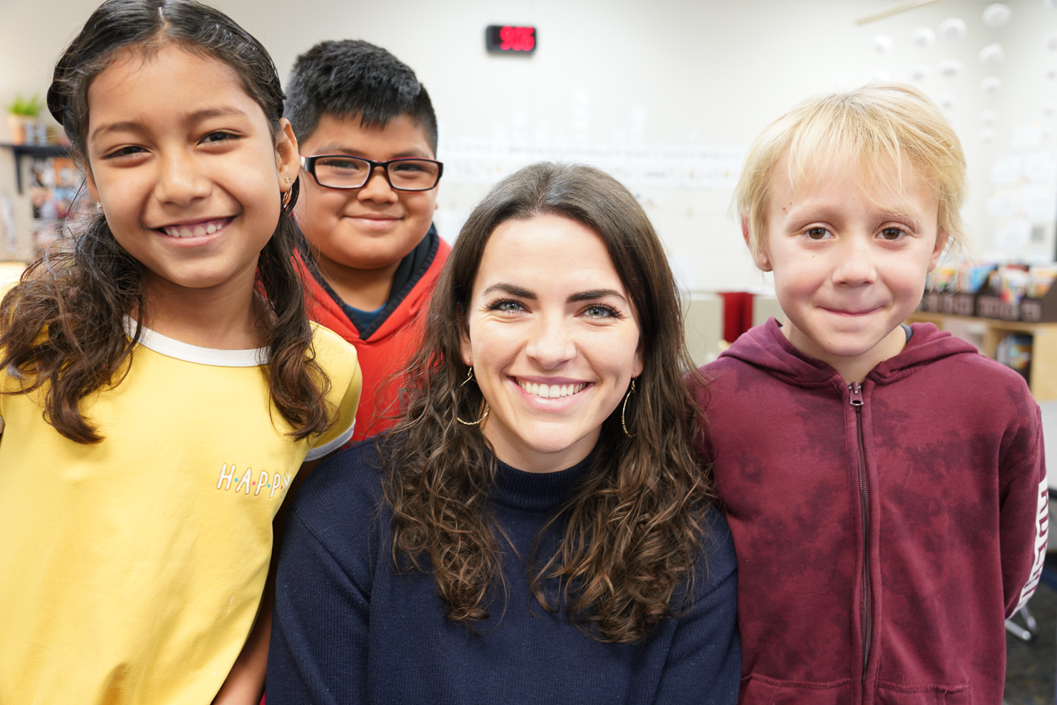 """Rosa Parks Elementary – Brittany Hamilton, 3rd Grade Third grade teacher Brittany Hamilton was named the 2019-2020 Teacher of the Year for Rosa Parks Elementary School. She has been with Union since 2016. Hamilton said, """"I became a teacher because of the wonderful examples set by my mom and by my grandpa. They both taught me that being a teacher is to be a life-long learner with an unconditional love for every student."""" Hamilton said, """"My favorite subject to teach is writing because it challenges my students and me to become stronger readers, writers, thinkers, and problem-solvers. Writing is an ill-defined problem with endless solutions, so students are able to show their creativity in their work."""" Hamilton has a bachelor's of science degree in elementary education and English language learners from Oral Roberts University."""