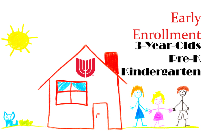 Union Public Schools is offering an early enrollment program for 3-year-old, pre-kindergarten and kindergarten students.