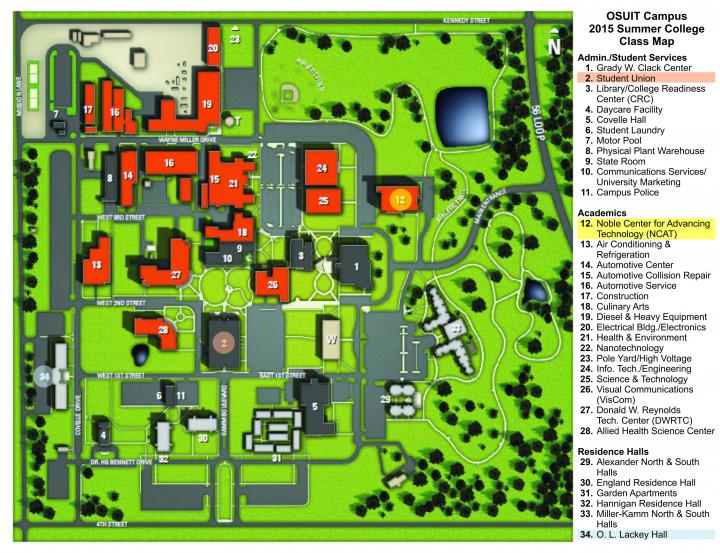 QuESTT, Inc. - Campus Map
