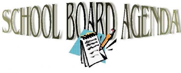 Holly Creek School  Holly Creek School  School Board Monthly Agenda
