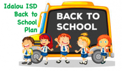 Idalou ISD Back to School Plan