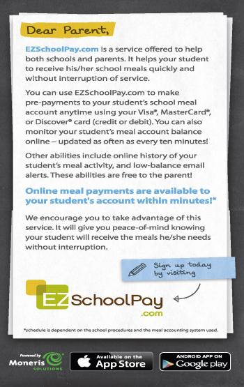 EZ School Pay flyer