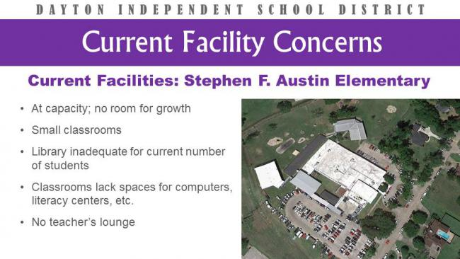 Dayton ISD - Facility Concerns