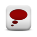 124111-matte-red-and-white-square-icon-symbols-shapes-thought-bubble-ps
