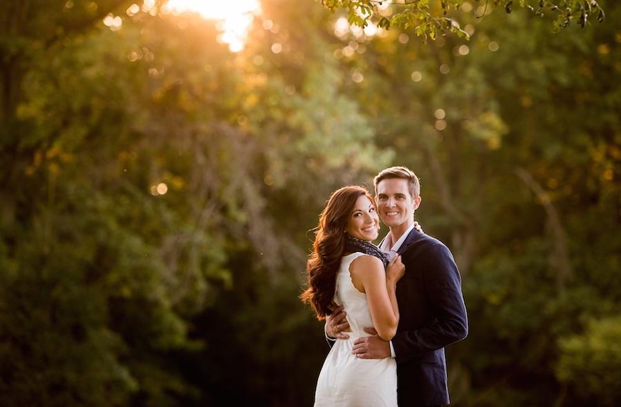 outdoor couple portraits