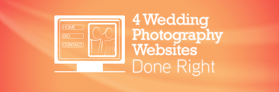 4 wedding photographer websites done right