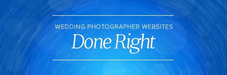wedding photographer websites