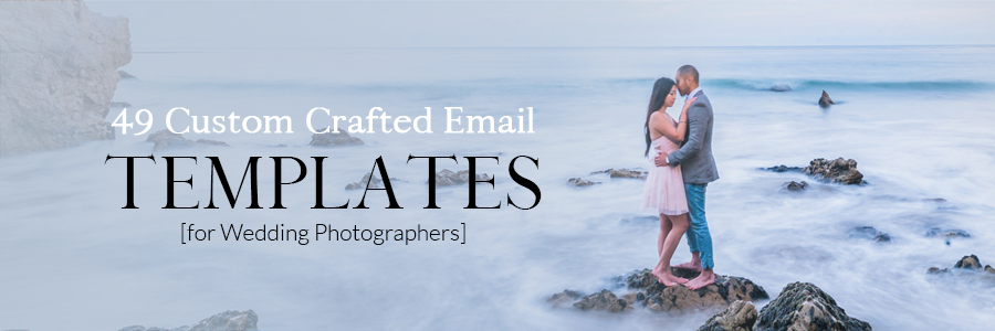 email templates for wedding photographers