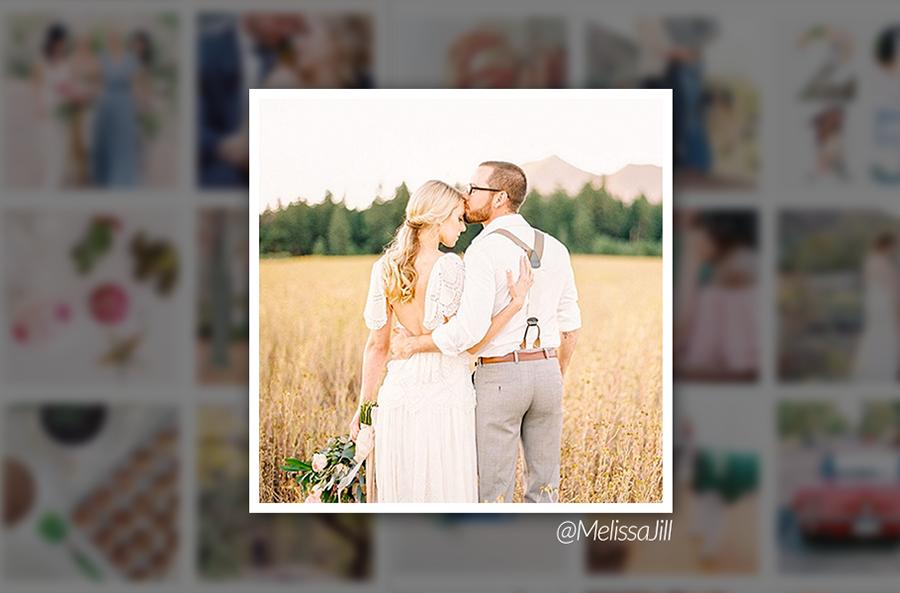 Melissa Jill Couple Portrait on Instagram