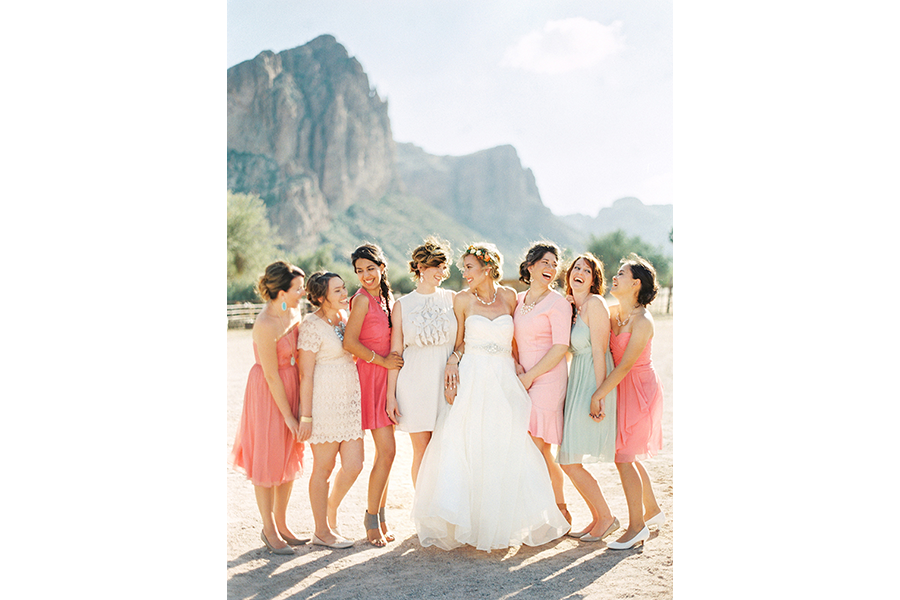 wedding photography bridal party