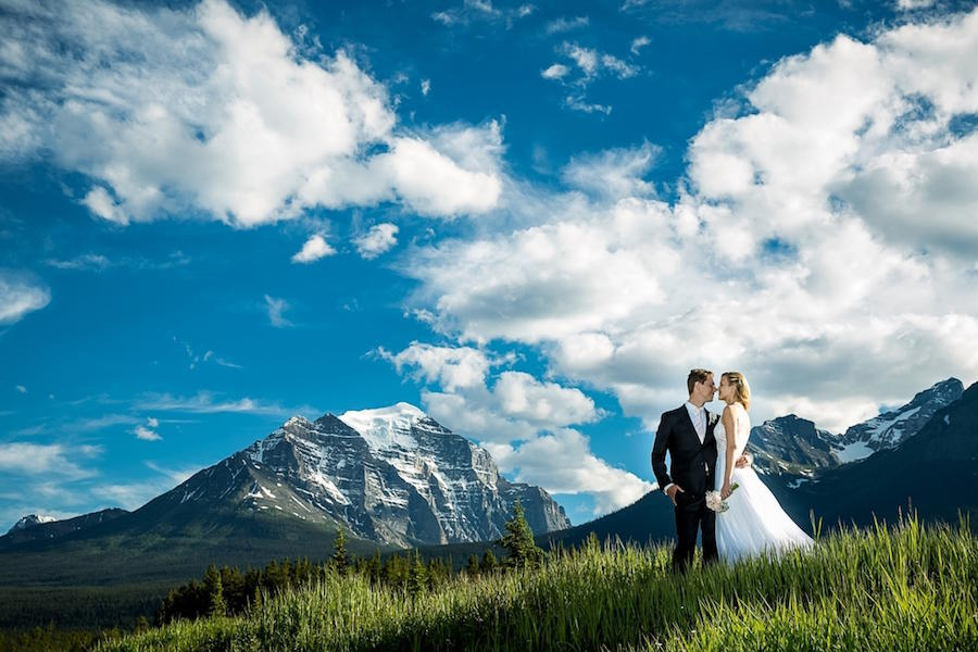 landscape wedding photography