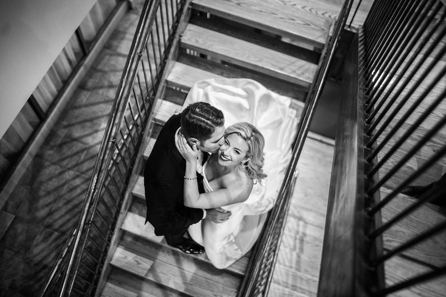 black and white couple portraits