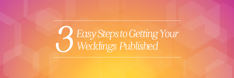 two bright lights tips getting your wedding published