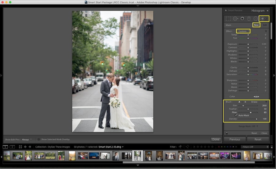 Steps To Blur Background In Lightroom
