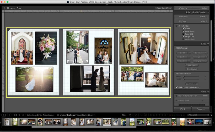 add images lightroom collage