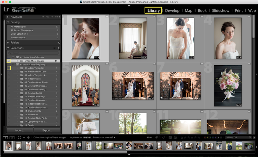 sync photo collection lightroom