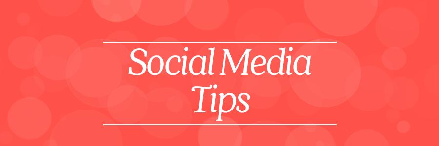 social media photography tips