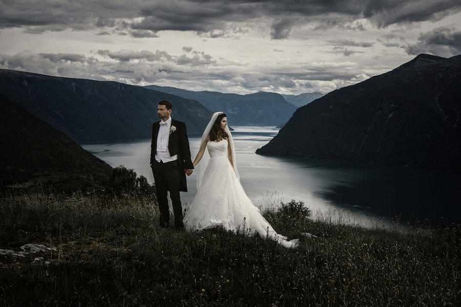 mountain couple portraits