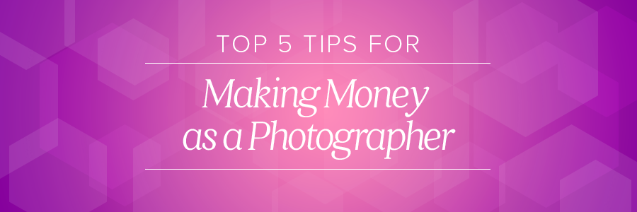 how to make money as a wedding photographer