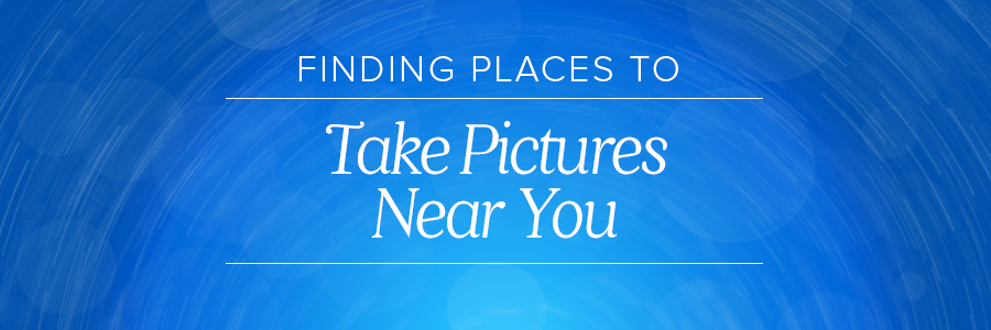 places to take pictures near me