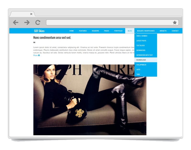 Sociable WordPress Theme