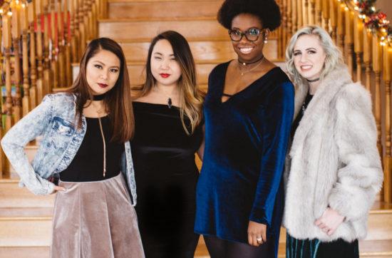 Diversity Chic // A Touch of Velvet   Stephanie Drenka