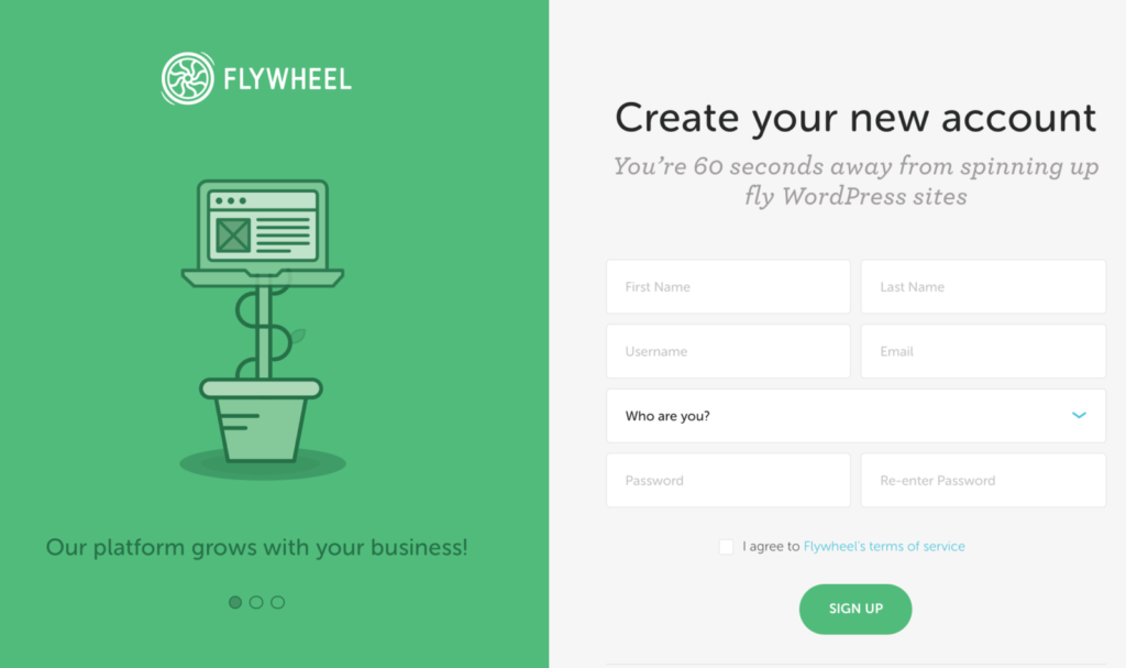 Switch from Bluehost hosting to Flywheel