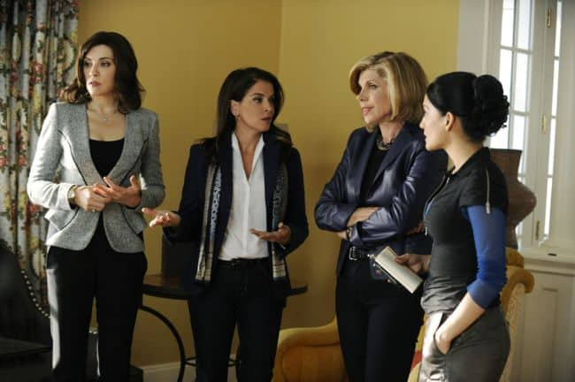 THE GOOD WIFE Season 4 Episode 5 Waiting For The Knock