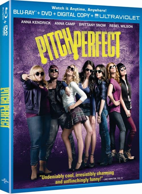 Pitch Perfect Bluray DVD