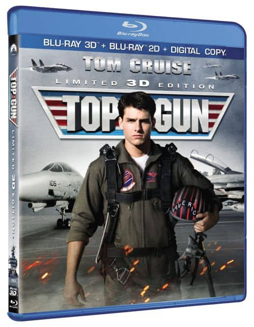 Top Gun 3D Bluray