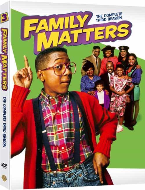 Family Matters Season 3 DVD
