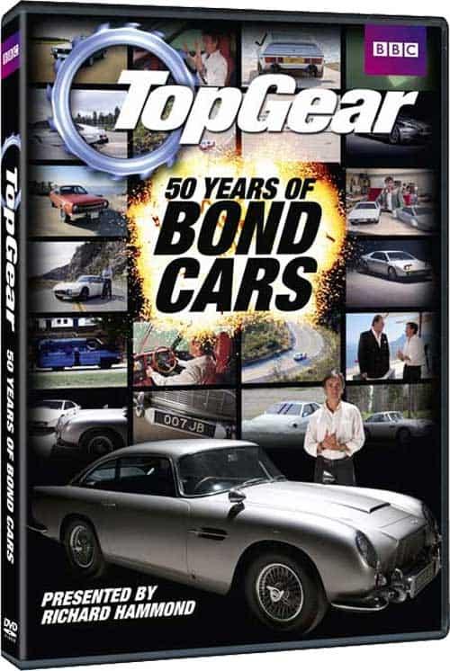 Top Gear 50 Years Of Bond Cars DVD