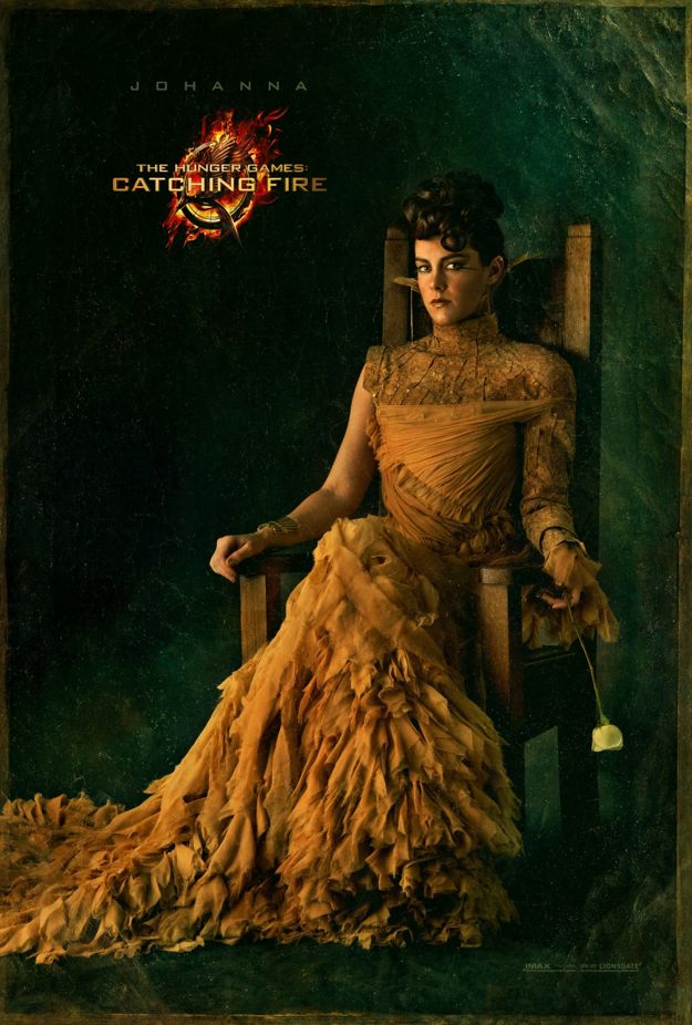 THE HUNGER GAME CATCHING FIRE Johanna Character Poster
