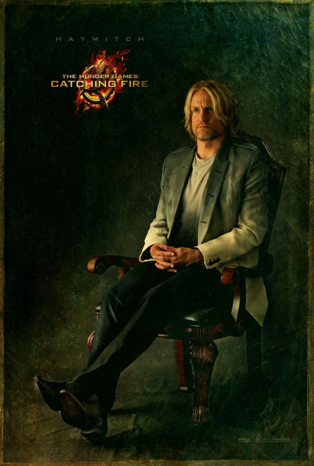 The Hunger Games Haymitch Character Poster