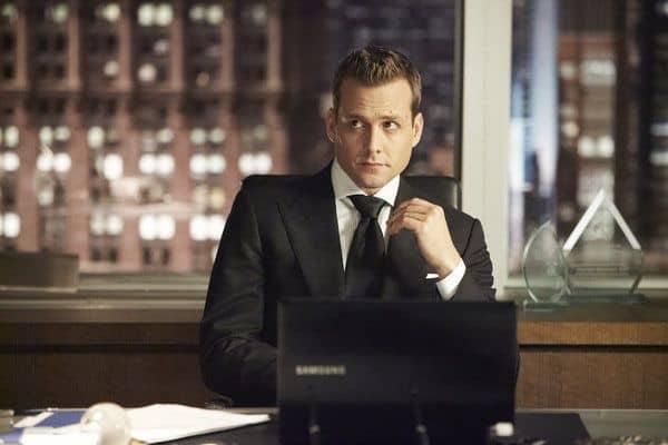 Gabriel Mact as Harvey Specter Suits Season 3