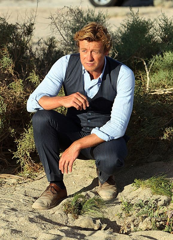 Simon Baker Patrick Jane The Mentalist