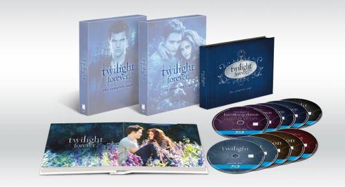 Twilight Forever Bluray Gift Set