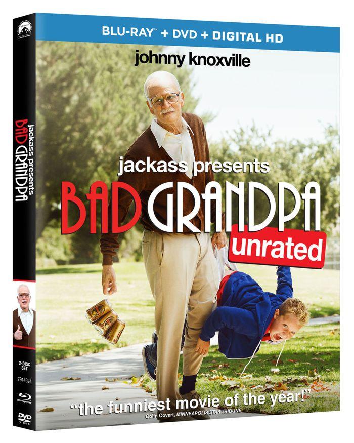 Bad Grandpa Bluray DVD