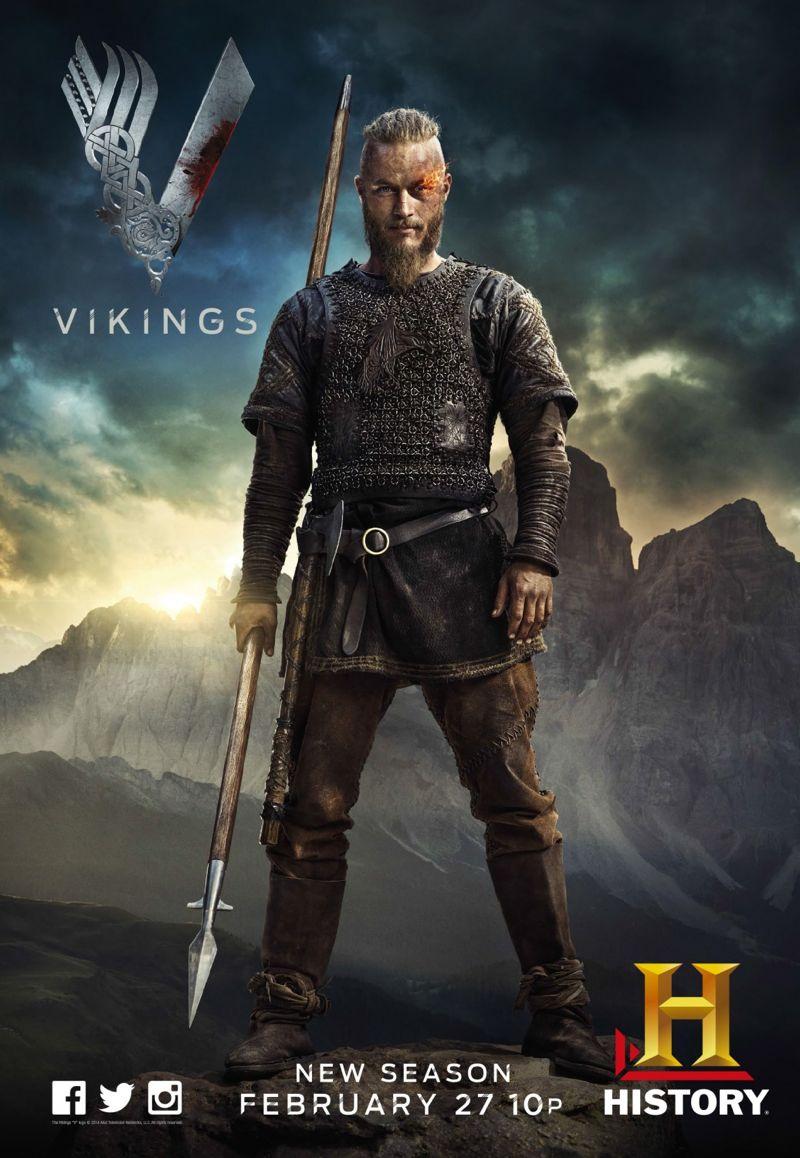 Vikings Temporada 2  1080p  Dual Latino/Ingles